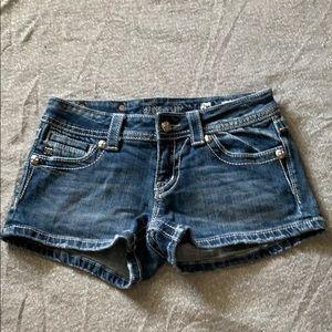 Miss me denim shorts 26